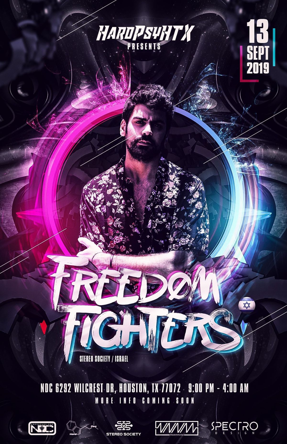 Freedom Fighters September 13th – Second stage DJ lineupT.B.A.